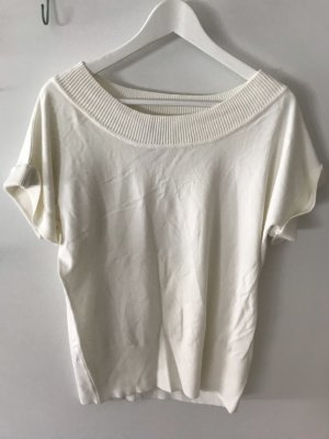 Zero Short Sleeve Sweater natural white