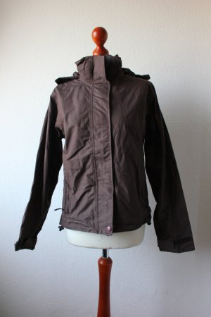 Outdoor Jacket brown polyester