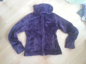 Fake Fur Jacket dark violet fake fur