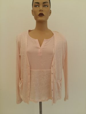 Knitted Twin Set light pink