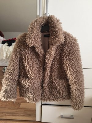 Fell fake fur Pelz Jacke Zara
