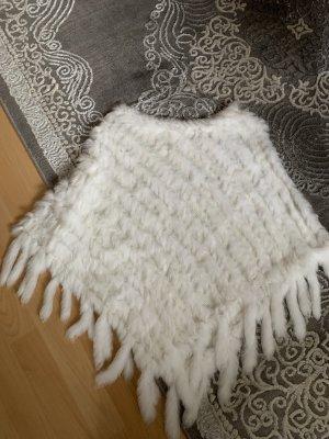 Woolrich Fur Jacket white