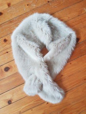 Zara Bufanda blanco puro
