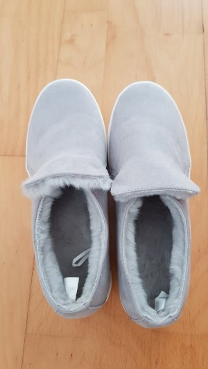 H&M Basket slip-on gris clair