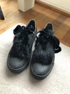 Attilio giusti leombruni Sneaker stringata nero-grigio