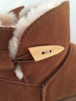 Snow Boots brown suede