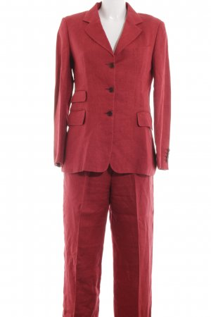 Fellini Hosenanzug rot Business-Look