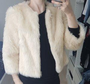 Fur Jacket natural white