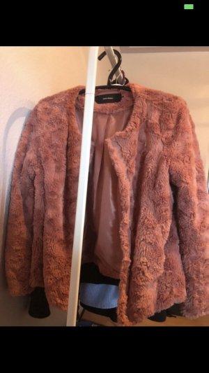 Vero Moda Giacca di pelliccia rosa