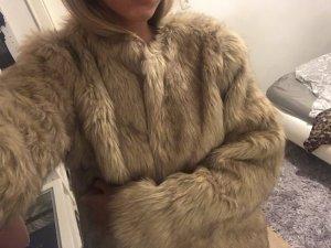 Primark Fur Jacket light brown fur