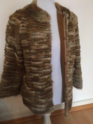Purificacion Garcia Fur Jacket multicolored