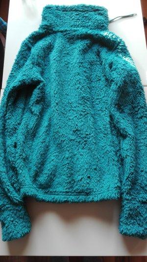 Esmara Fur Jacket cadet blue-petrol polyester
