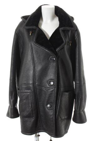 Fur Jacket black fluffy