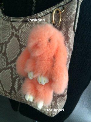 Key Chain apricot fur