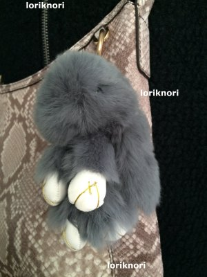 Key Chain silver-colored pelt