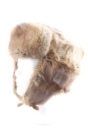 Fur Hat multicolored fluffy