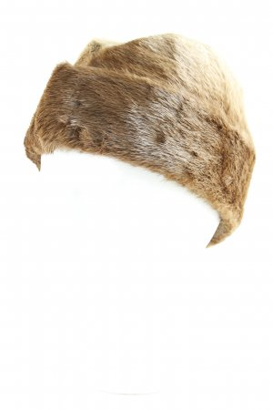 Fur Hat multicolored fluffy