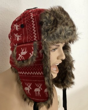 Fur Hat red