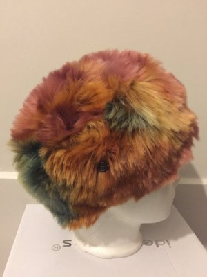 Seeberger Fur Hat multicolored polyester
