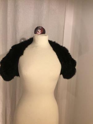 Stefanel Bolero black fur