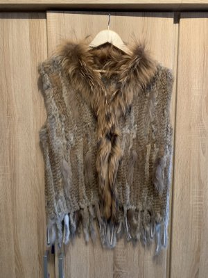 Pelt Coat beige fur