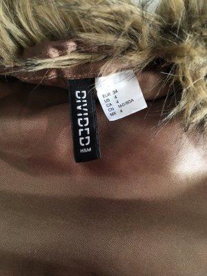 H&M Divided Bontgilet bruin