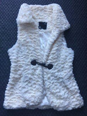 Tally Weijl Fur vest white