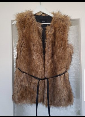 C&A Fur vest multicolored