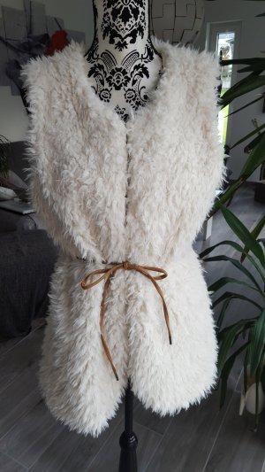 Fellweste Fake Fur von Gina Gr. 38 - *neuwertig*