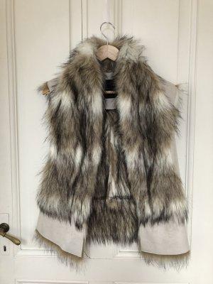Fellweste / faux fur jacket /cozy faux fur vest