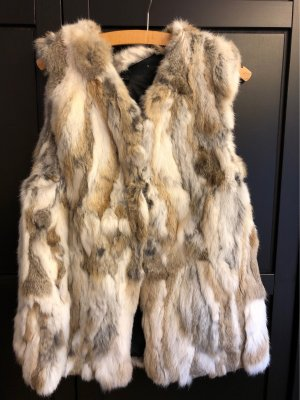 Minimum Fur vest multicolored