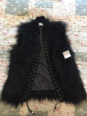 Circle of Trust Fur vest black