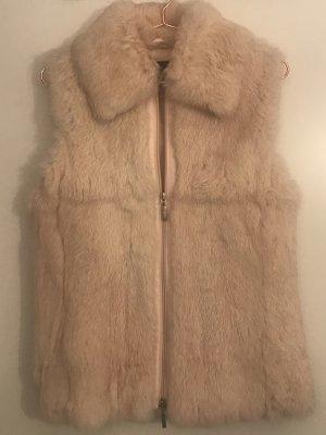 Carlo Colucci Smanicato di pelliccia rosa pallido