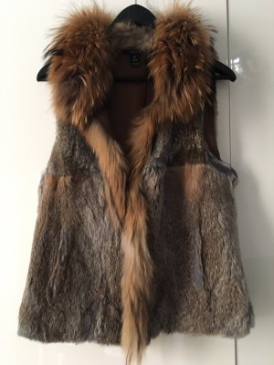 Sfera Fur vest multicolored