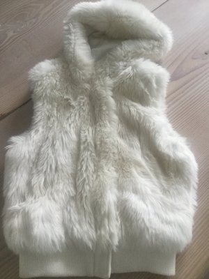 H&M Divided Fake Fur Vest multicolored