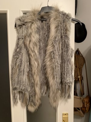 Oakwood Gilet en fourrure gris