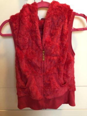Tally Weijl Fur vest pink