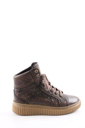 Felmini High Top Sneaker brown casual look