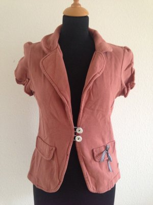Feminin Pin Up Halbarm Sweatjacke cool Blogger Vintage Romantik Retro Hipster
