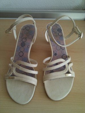 Esprit Strapped High-Heeled Sandals beige