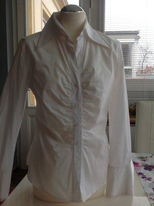 feminine weiße Bluse