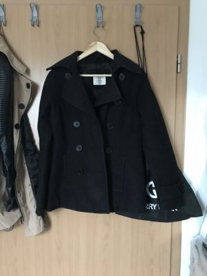 H&M L.O.G.G. Short Coat black