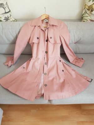 Femininer Trenchcoat in Rosa