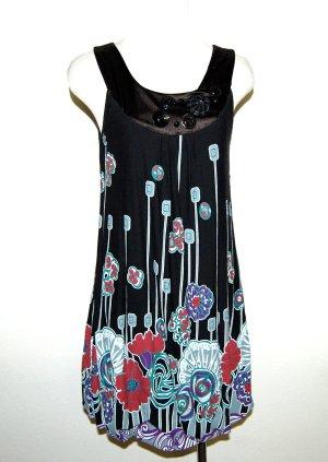 Feminines Ballonkleid – Trägerkleid von Chilli – Made in Italy Gr.S/M