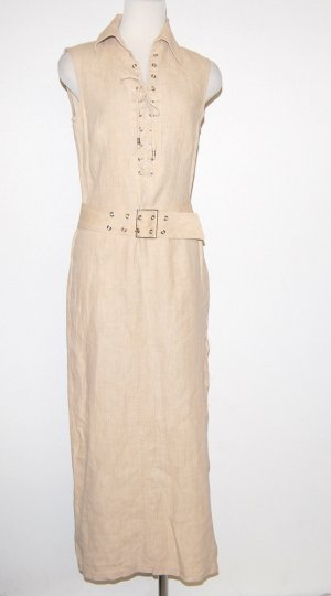 Betty Barclay Vestido largo beige Lino