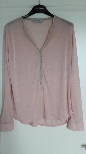 Feminines Serafino Shirt von Rene Lezard, Gr 36