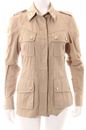 Femme by Michele Rossi Between-Seasons Jacket multicolored military look