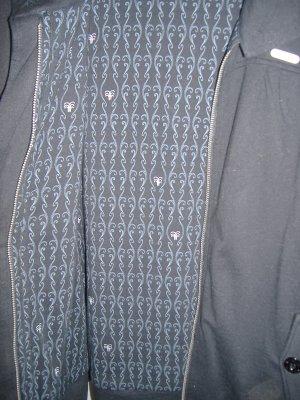 Fenchurch College Jacket black cotton