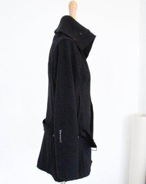 Fenchurch, Long-Jacke, Schwarz, Größe S-M, Wolle