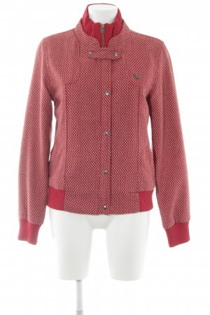 Fenchurch Shirtjacke rot-altrosa abstraktes Muster Casual-Look